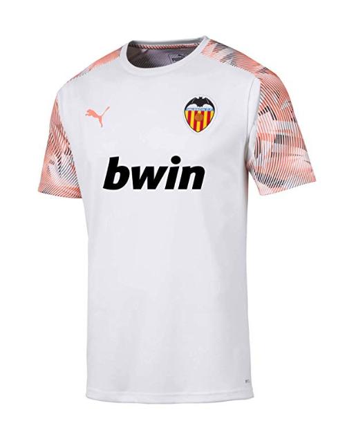 camiseta valencia 2020 entrenamiento compra online